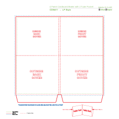 Cd Mailers And Wallets Template Download