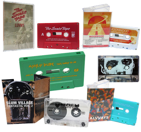 Audio Cassette Duplication Packages - Real-Time and High