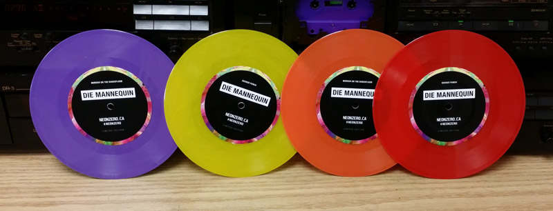 7 Inch Vinyl Record Pressing - Canada